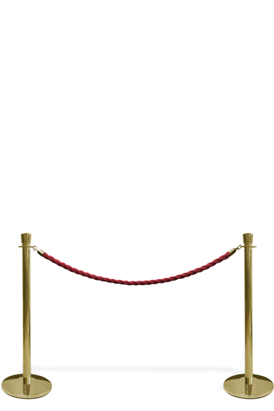 Crowd Barrier Rope, Gold