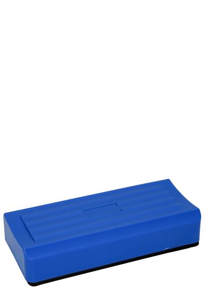 Blå plastik tavlevisker