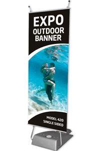 Expo Outdoor Banner, enkeltsidet