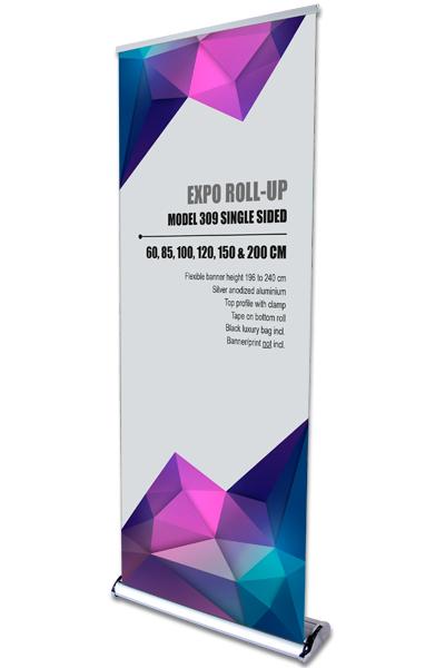 Expo Roll-Up,enkeltsidet