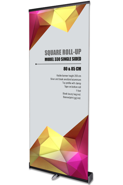 Square Roll-Up, enkeltsidet