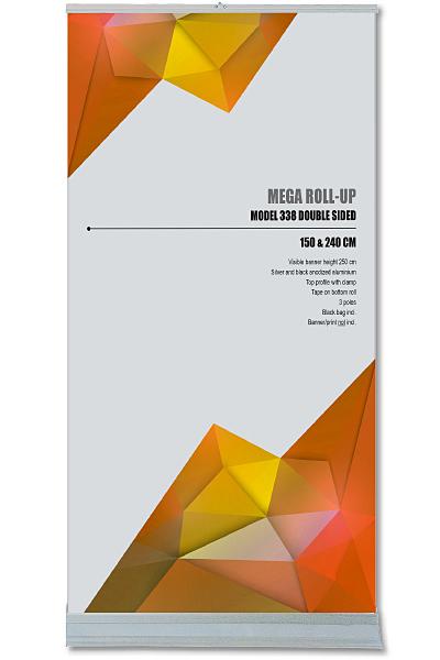 Mega Roll-Up, dobbeltsidet