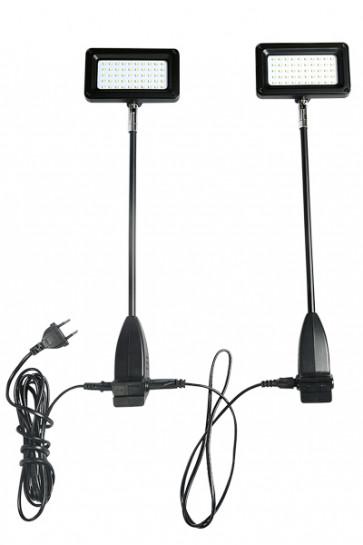 CROWN TRUSS 10x10, LED, 15 watt  Spotlight, inkl. holder. Sæt. = 2 stk.