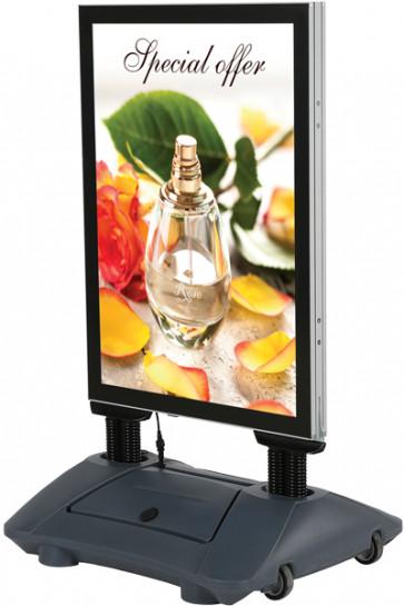 LED Wind-Sign Waterbase A1 - inkl. batteri
