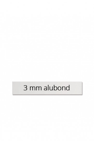Panel size 60x10 cm for Estate Sign Twin 65x101cm. 3mm. dibond