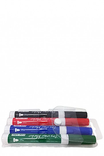 White Board Marker - 4 farvet mix