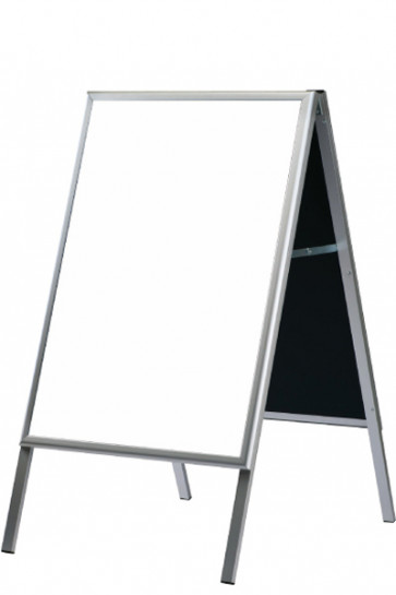 A-skilt med  Whiteboard 60x80cm