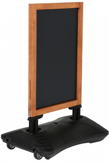 Wooden Wind-Sign Waterbase with Blackboard 59x78cm