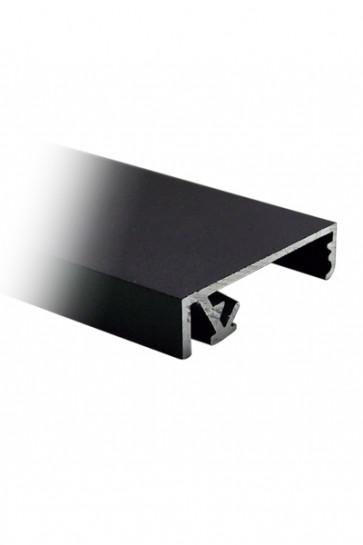 Crown Snap Profile 33mm, Black,  270cm