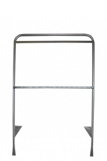 Estate Sign Twin 65x101cm, sølv. uden plader