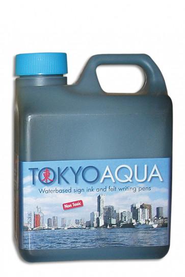 TOKYO AQUA skilteblæk 1 ltr. blå
