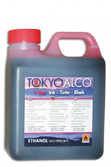 TOKYO ALCO skilteblæk rød