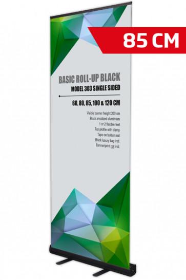 Basic Roll-up, Enkelt Model 85 - sort