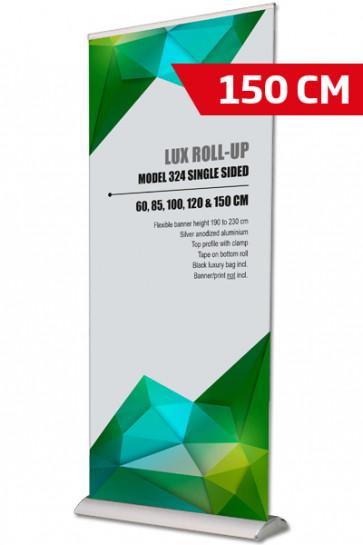 Lux Roll-up, Enkelt Model 150 - alu