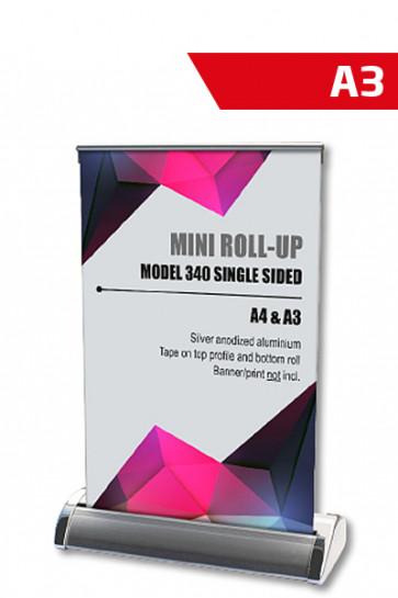 Mini Roll-up, A3 - alu