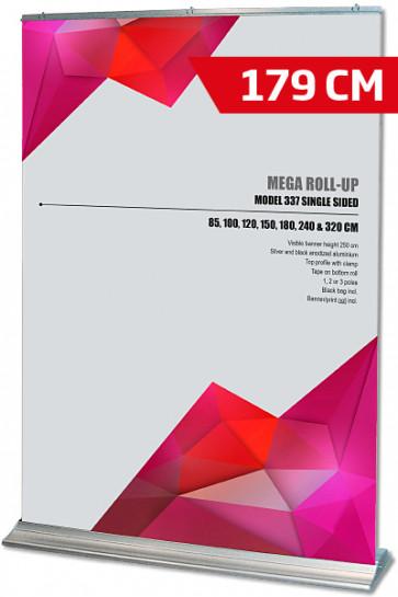 Mega Roll-Up, Model 180 alu