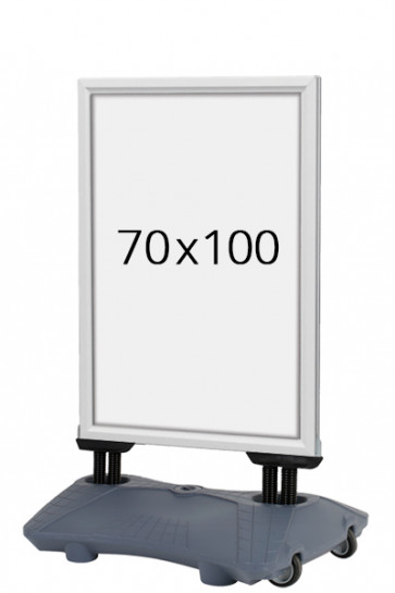 WIND-SIGN Waterbase Budget 40mm (G) 70x100 cm alu