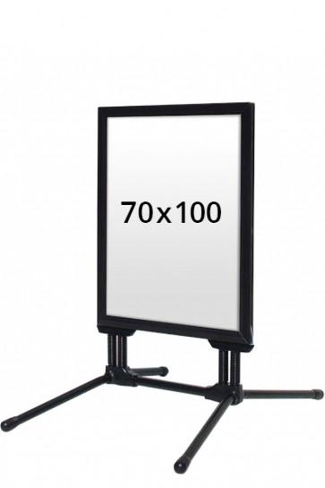 WIND-LINE BUDGET gadeskilt 40mm (G) 70x100cm - Sort