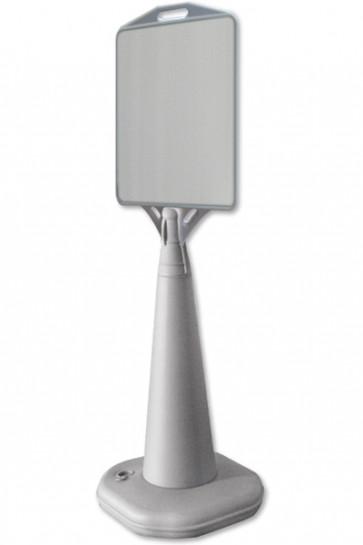 VACU DISPLAY B 336x385mm Grå