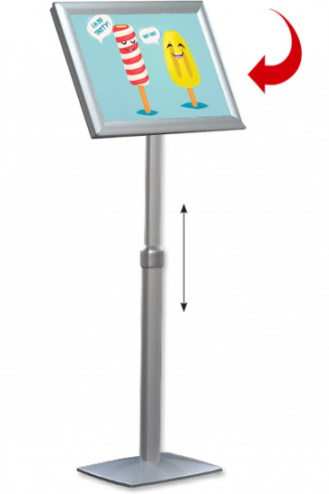 Adjustable Infoboard Flex,  A2 gering