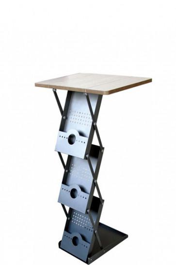 Flex Counter m/kuffert 3xA4 - grå