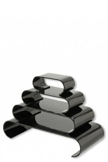 Nesting Shelves Rounded x 4 - black