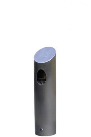 Cigarette tube brushed steel