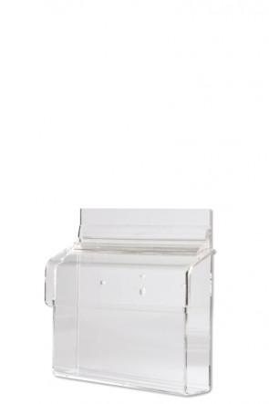 Acrylic Outdoor Brochure Box A6 - horisontal