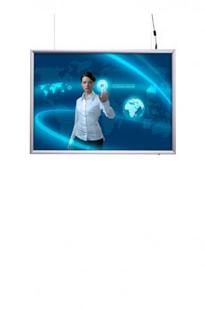 LED Light box 50x70cm Double sided - horisontal