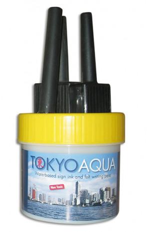 TOKYO AQUA 4 filtpennesæt gul