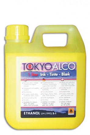 TOKYO ALCO skilteblæk gul
