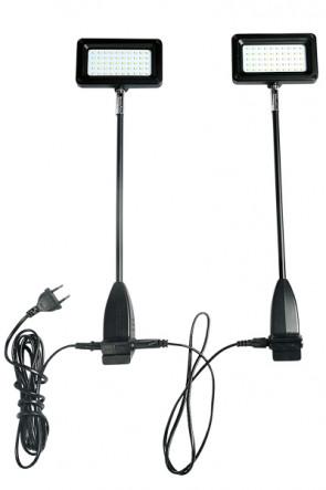 LED Spotlight 15W,  sort.   2 stk./sæt
