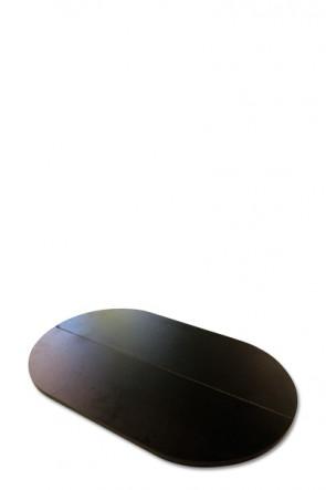 Bordplade til Pop-Up counter kuffert, sammenklappelig, sort