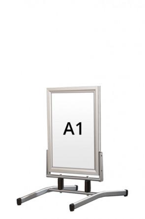 WIND-LINE LUX gadeskilt 45mm (G) A1 alu
