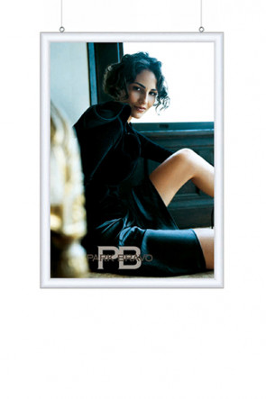 DOUBLE SIDED SNAP FRAME 25mm (G) A2 alu