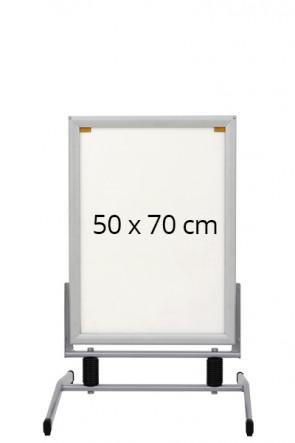 WIND-LINE BASIC gadeskilt 40mm (G) 50x70cm alu