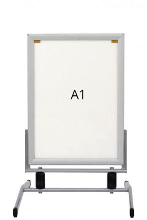 WIND-LINE BASIC gadeskilt 40mm (G) A1 alu