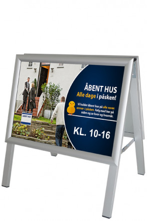 ALU-LINE gadeskilt 25mm, A3 Horisontal, (G) ALU