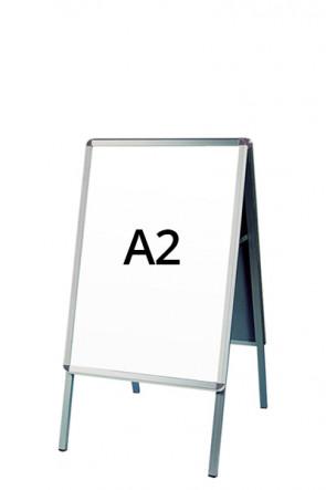 ALU-LINE gadeskilt 32mm A2 (R) ALU