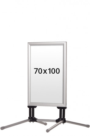 WIND-LINE BUDGET gadeskilt 40mm (G) 70x100cm alu