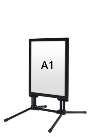 WIND-LINE BUDGET gadeskilt 40mm (G) A1 - Sort