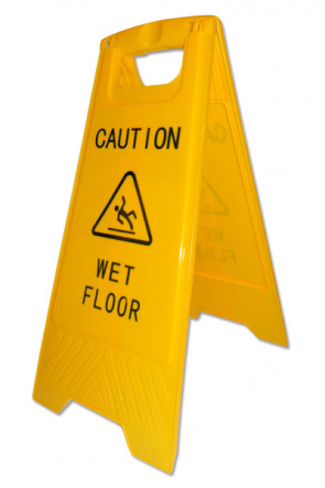 Caution Board  - med print