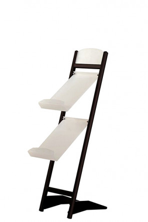 Tilted stand  2xA4 - black