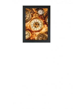 Crown Snap Frame 33 mm (G), A4, sort