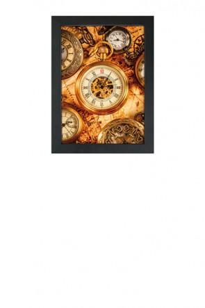 Crown Snap Frame 33 mm (G), A2, sort