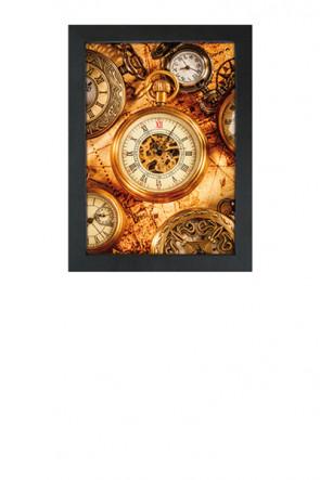 Crown Snap Frame 33 mm (G), 50x70cm, sort