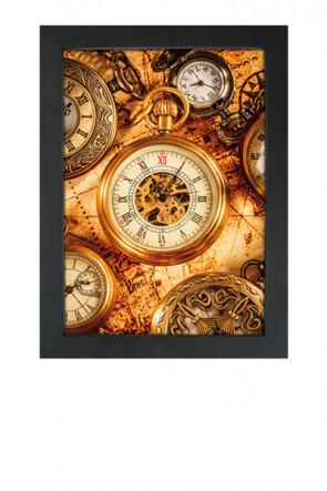 Crown Snap Frame 33 mm (G), 70x100cm, sort