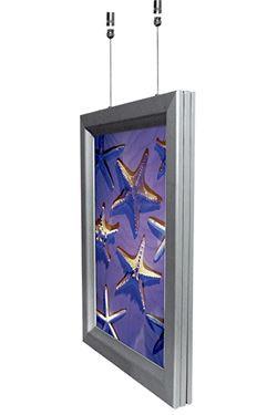 SNAP-LIGHT dobbelsidet 70x100cm