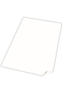 Skiltekarton dobbelsidet 70x100cm hvid, (50 stk.)