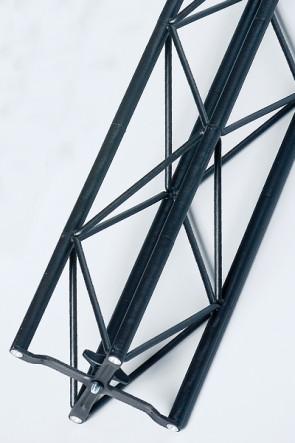 Exibit modul 120 cm - sort